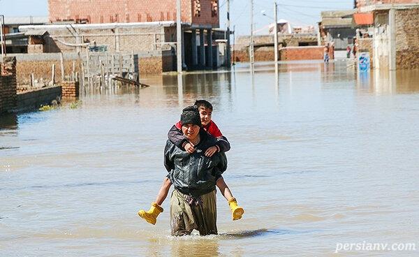 سیل خوزستان ۹۸ و واکنش مسئولان | کار خاصی از دستمان بر نمی آید!!