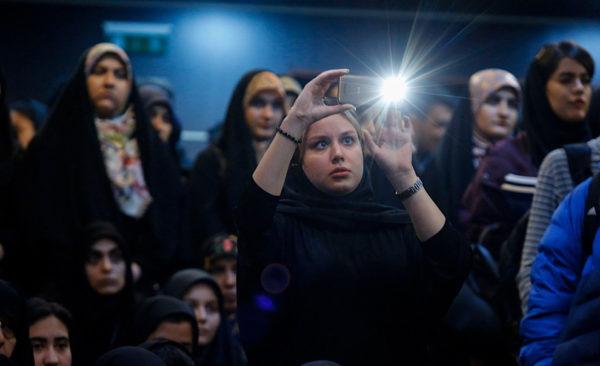 حاشیه های مراسم روز دانشجو در دانشگاه های تهران