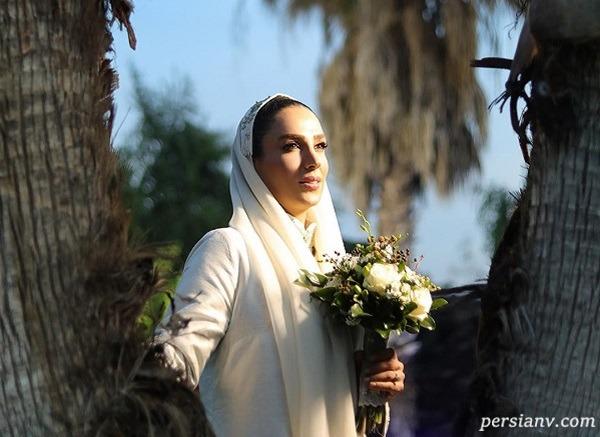 تصاویری از مراسم عروسی سوگل طهماسبی در طبیعت