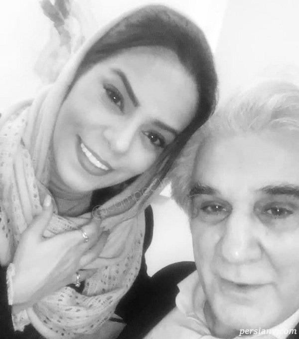 مهدی هاشمی و همسر جدیدش