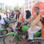 استقبال گسترده از کمپین موتورسواری زنان پاکستان!!