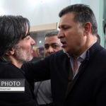 مراسم ختم پدر وحید شمسایی با حضور چهره ها در تهران!