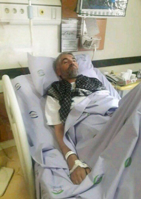 سردار فضلی در بیمارستان