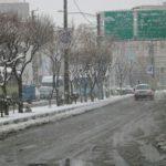 اقدام عجیب و غریب یک مرد در هوای برفی تهران