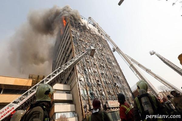 آخرین وضعیت ساختمان پلاسکو بعد گذشت سه سال از فاجعه