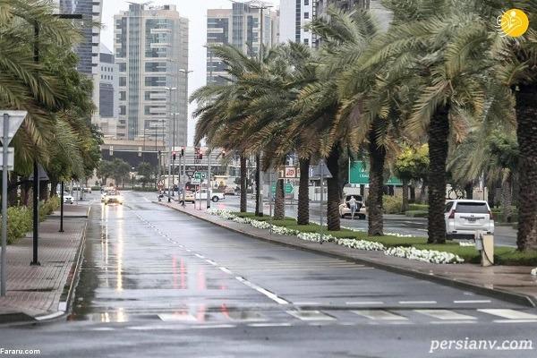 سیل در دبی