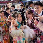 جشن ۲۰ سالگی دختران ژاپنی
