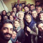 تصاویر پشت صحنه سریال دل که منوچهر هادی منتشر کرد