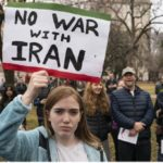 تظاهرات مردم آمریکا برای مخالفت با جنگ در ۷۰ شهر این کشور
