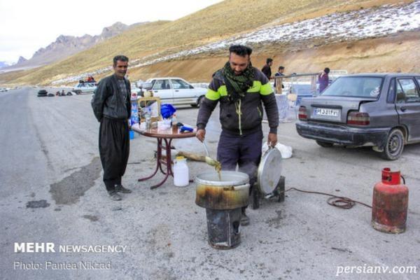 تفریحات مجردی و خانوادگی زمستانی در بام ایران