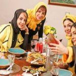 بازیگران زن شام ایرانی با تم دهه شصتی