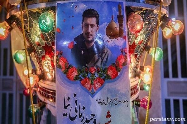 ناگفته های زندگی وحید زمانی نیا محافظ شهید سردار سلیمانی