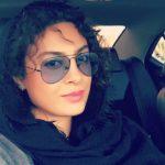 حدیثه تهرانی و همسرش ؛ گشت و گذار حدیثه تهرانی با همسرش
