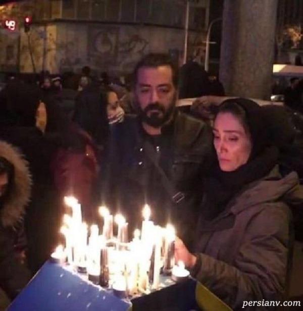 حضور هدیه تهرانی