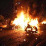 حمله هوایی آمریکا به دو خودرو در شمال بغداد پس از ترور سردار سلیمانی