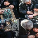 وداع سوزناک دختر خردسال شهید طارمی با پدر