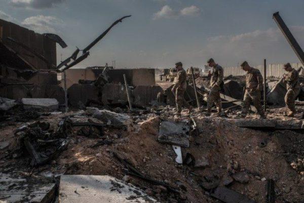 حمله ایران به عین الاسد