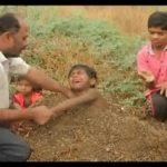 زنده دفن شدن کودکان در هنگام خورشیدگرفتگی