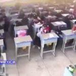 رفتار وحشیانه معلم با آویزان کردن یک دانش آموز دختر !