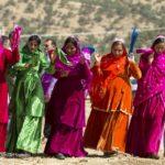جشنواره رنگهای زیبا در عروسی بختیاری شاد