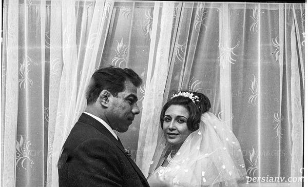 تصویری از غلامرضا تختی و همسرش در پیست اسکی که تابحال دیده نشده