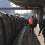 قطع شدن پای زن در ایستگاه قطار در اثر یک اقدام خطرناک