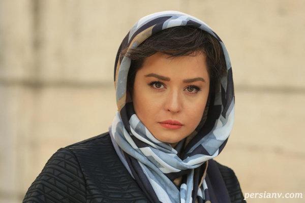 سانسور لباس مهراوه شریفی نیا در سریال دل
