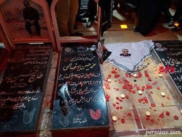 مراسم تشییع پیکر سردار سلیمانی