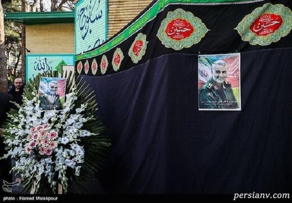 مراسم تشییع سردار قاسم سلیمانی و وصیت ایشان برای محل خاکسپاری