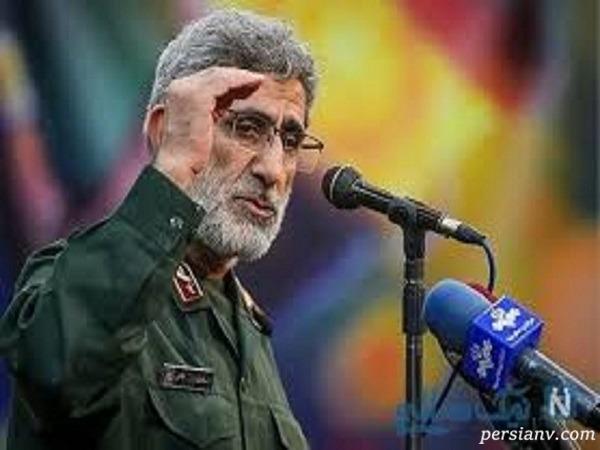 اولین توئیت معنادار فرمانده جدید نیروی قدس سپاه