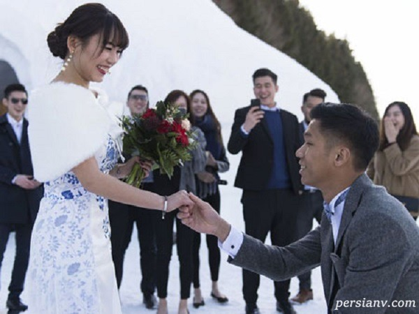 گرفتن امتحان زبان انگلیسی از داماد در روز عروسی
