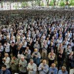 حالت معنوی خاص یک نمازگزار در نماز جمعه تهران