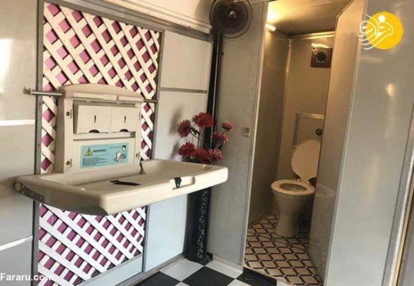توالت عمومی برای زنان