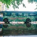 تبدیل اتوبوس به توالت بانوان!