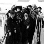 محل استراحت امام خمینی در پرواز انقلاب در عکسی دیده نشده