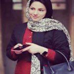 محیا اسناوندی و همسرش در جشنواره فیلم فجر