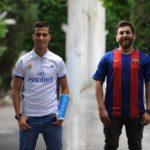 بدل ایرانی رونالدو و مسی در کنار یکدیگر