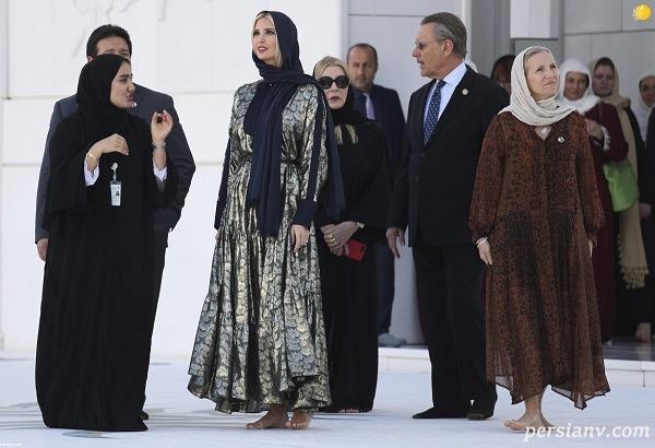 ایوانکا ترامپ در امارات
