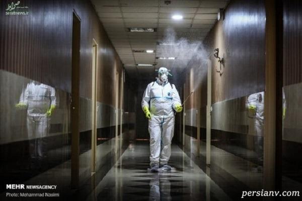 زندگی در قرنطینه تهران به روایت تصویر