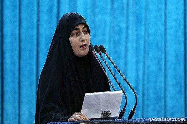 زینب سلیمانی در دانشگاه