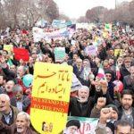 زیباترین عکس راهپیمایی ۲۲ بهمن که سوژه عکاسان شد