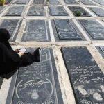 سنگ قبرهای لاکچری در قطعات جدید بهشت زهرا
