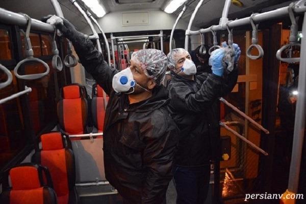اتوبوس های پایتخت
