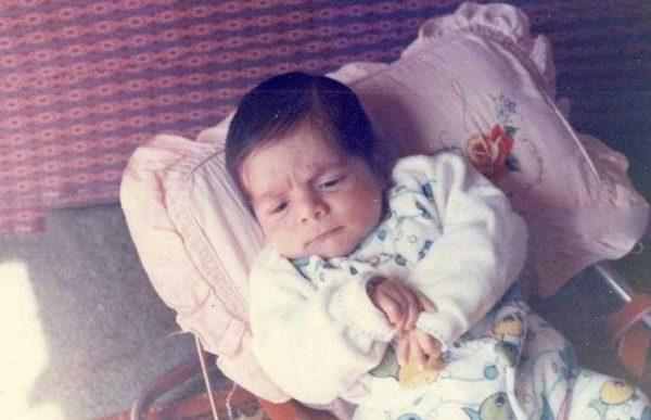 عباس غزالی در کودکی