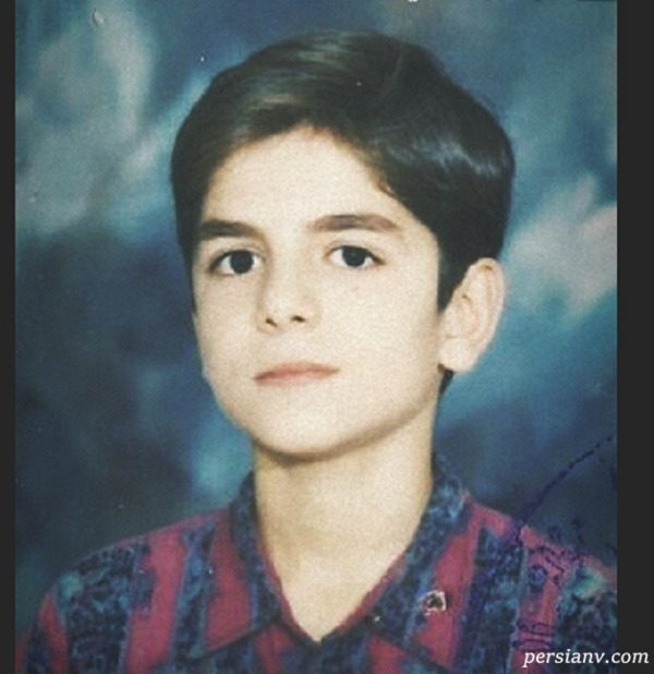 عباس غزالی در نوجوانی