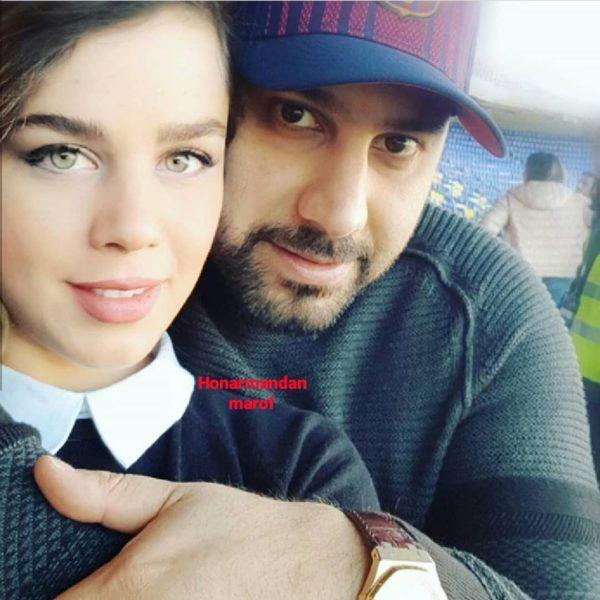 احسان و همسرش لیلا