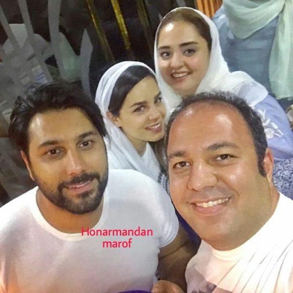 علی اوجی و احسان خواجه امیری