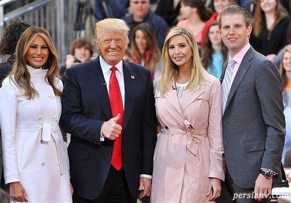 ترامپ و خانواده اش در هند