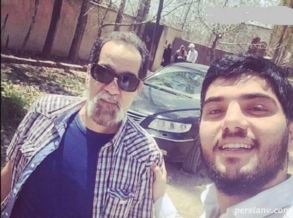 سینا مهراد و پدرش