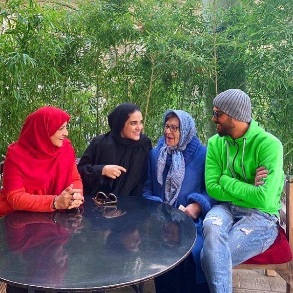 عکس خانوادگی سینا مهراد